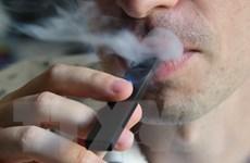 Thuốc lá điện tử làm tăng nguy cơ mắc các bệnh phổi mãn tính