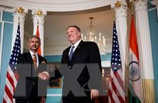 Quan chức cấp cao Mỹ và Ấn Độ tổ chức đàm phán chiến lược