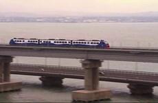 Nga khánh thành cầu đường sắt vượt Eo biển Kerch dài nhất châu Âu