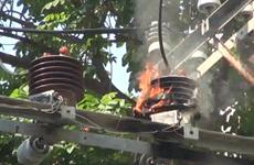 [Video] Cháy nổ trạm điện trung thế, một người bị thương nặng