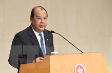 Chính quyền Hong Kong nỗ lực ổn định xã hội trong năm 2020