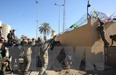 Tiếp tục biểu tình bạo loạn bên ngoài Đại sứ quán Mỹ tại Iraq