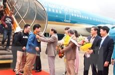 Vietnam Airlines đón những hành khách đầu tiên của năm 2020