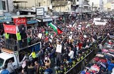 Jordan: Biểu tình lớn phản đối nhập khẩu khí đốt từ Israel