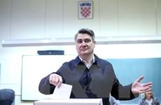Bầu cử tổng thống Croatia: Cựu Thủ tướng Milanovic giành chiến thắng