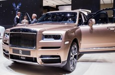 Doanh số bán xe ôtô của Roll-Royce tăng 25% trong năm 2019