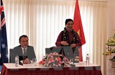Phó Chủ tịch Quốc hội gặp gỡ cộng đồng Việt Nam tại Australia