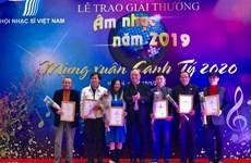 68 công trình, tác phẩm xuất sắc được trao Giải thưởng Âm nhạc 2019
