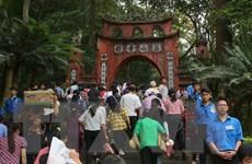 Dâng hương tưởng niệm các Vua Hùng Xuân Canh Tý 2020