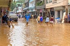 Brazil hứng chịu trận mưa lớn nhất trong 110 năm gây nhiều thiệt hại