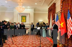 Khởi động các hoạt động kỷ niệm 25 năm quan hệ Việt Nam-Hoa Kỳ