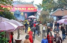 Nam Định dừng tổ chức Lễ hội Khai ấn đền Trần để phòng chống nCoV