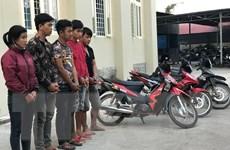 Tây Ninh triệt phá đường dây chuyên trộm xe máy liên tỉnh