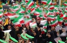 Tuần hành khắp đất nước Iran kỷ niệm 41 năm Cách mạng Hồi giáo