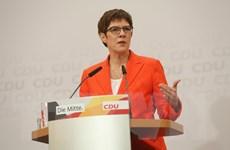 Đức: Chủ tịch đảng CDU Karrenbauer cân nhắc đề cử người kế nhiệm