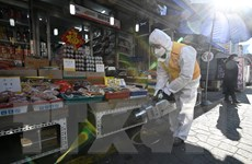 Hàn Quốc ghi nhận thêm 5 trường hợp mới nhiễm COVID-19