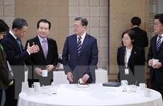 Tổng thống Hàn Quốc lo ngại khi số bệnh nhân bị COVID-19 tăng nhanh