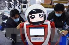 Trung Quốc triển khai robot thông minh 5G để phòng dịch COVID-19