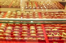 Giá vàng tại thị trường châu Á vọt lên mức ''đỉnh'' trong hơn 7 năm