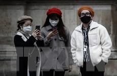 Số người nhiễm virus SARS-CoV-2 tiếp tục nhanh tại Pháp