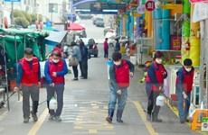 Hàn Quốc ghi nhận thêm 210 ca nhiễm COVID-19 mới