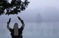Hà Nội sáng sớm sương mù, ngày nắng, đêm có mưa vài nơi