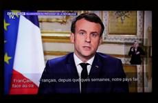 COVID-19: Pháp đóng cửa trường học, cấm tụ tập từ trên 100 người