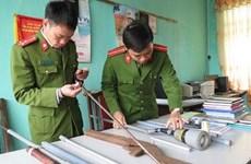 Sơn La: Bắt giữ đối tượng đặt mua linh kiện súng quân dụng qua mạng
