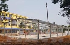 Hoàn tất xây bệnh viện bệnh lý hô hấp cấp tính Mê Linh trong một tuần