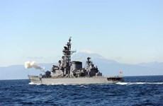 Tàu cá Trung Quốc va chạm với tàu khu trục Nhật Bản