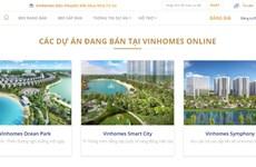 Vinhomes chính thức ra mắt sàn giao dịch bất động sản trực tuyến
