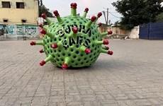Phát minh độc đáo truyền tải thông điệp chống dịch COVID-19 tại Ấn Độ