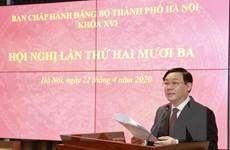 Hà Nội: Chuẩn bị tốt nhất các điều kiện để phục hồi kinh tế Thủ đô