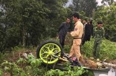 Danh tính 4 người tử vong trong vụ xe ôtô lao vực sâu ở Tam Đảo