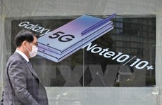 Samsung là hãng bán smartphone 5G lớn nhất thế giới trong quý 1