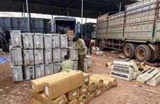 Phát hiện kho hàng điện lạnh nhập lậu từ biên giới Tây Nam