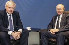 Tổng thống Nga Putin điện đàm với Thủ tướng Anh Boris Johnson