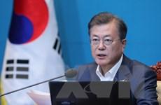 Tổng thống Hàn Quốc nhấn mạnh quyết tâm thúc đẩy hợp tác liên Triều