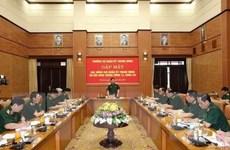 Gặp mặt đại biểu Quân đội dự Hội nghị 12 BCH Trung ương khóa XII