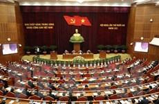 Ngày làm việc thứ ba Hội nghị lần thứ 12 Ban Chấp hành TW Đảng