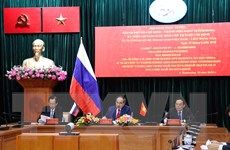 Hội nghị trực tuyến TP Hồ Chí Minh và thành phố Saint Petersburg