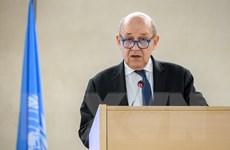 Ngoại trưởng Pháp cảnh báo Iran khiến quan hệ hai nước căng thẳng