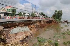An Giang: Đề nghị xã hội hóa dự án nắn dòng sông Hậu bảo vệ Quốc lộ 91