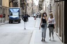 Dịch COVID-19: Số ca nhiễm mới tại Italy tiếp tục chiều hướng giảm