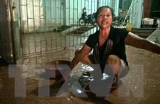 Hà Giang: Nhà dân ngập bùn đất từ công trình san lấp sau mưa lớn