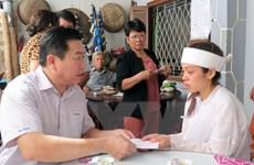 Phú Yên: Thăm hỏi, chia sẻ với các gia đình nạn nhân của trận lốc xoáy