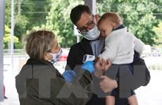 Ukraine ghi nhận số ca mắc COVID-19 cao nhất từ trước đến nay