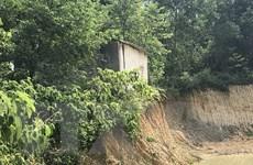 Chủ tịch Hà Nội chỉ đạo kiểm tra việc khai thác đất tại Ba Vì