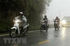 Vùng núi Bắc Bộ tiếp tục mưa dông kèm thời tiết nguy hiểm 1-2 ngày tới