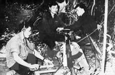 Những chiến sỹ xung kích trên mặt trận thông tin giữa chiến trường